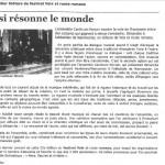 Festival Voix et Routes Romanes - Marmoutiers
