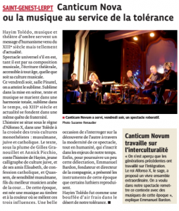 article St Genest Lerpt